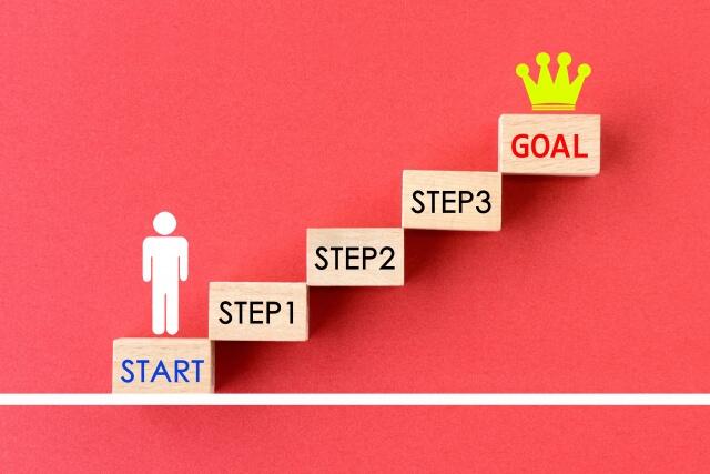 目標を立てることも大切です